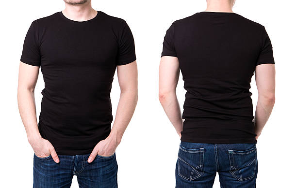T shirt template pictures images and stock photos istock for T shirt template with model