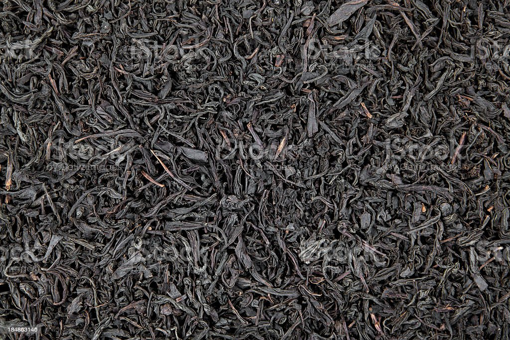 Black tea leaves royalty-free stock photo