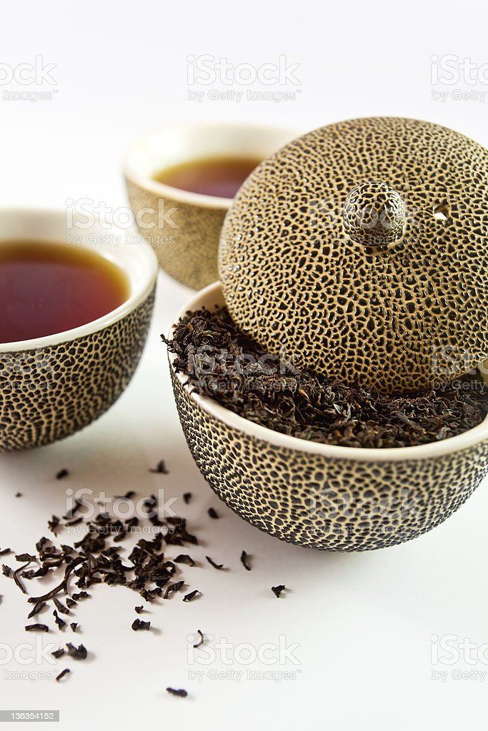 Black tea. royalty-free stock photo