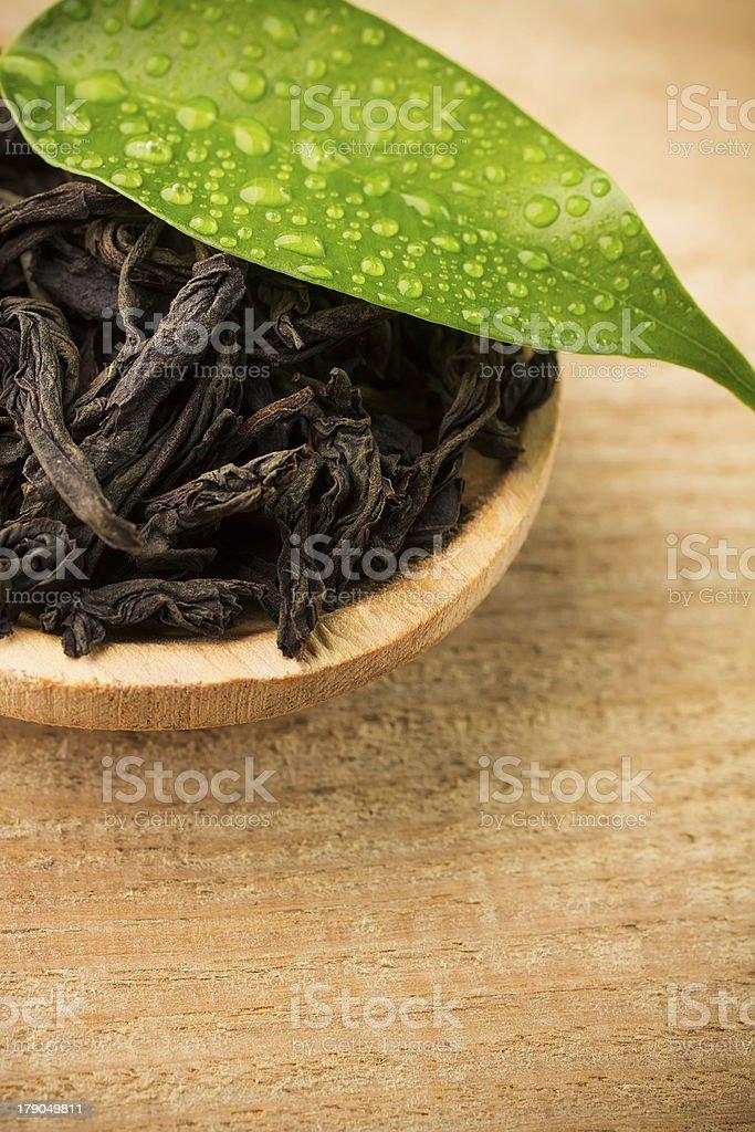 Black tea. royalty-free stock photo