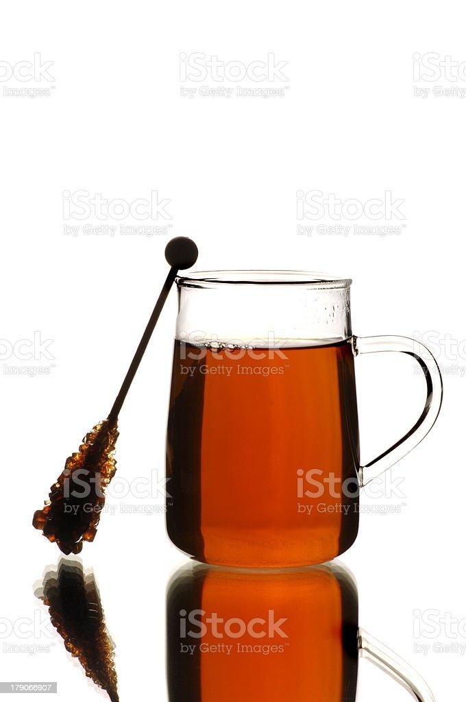 Black tea royalty-free stock photo