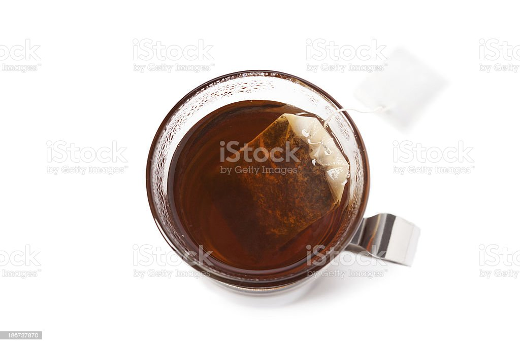 Chá preto foto royalty-free