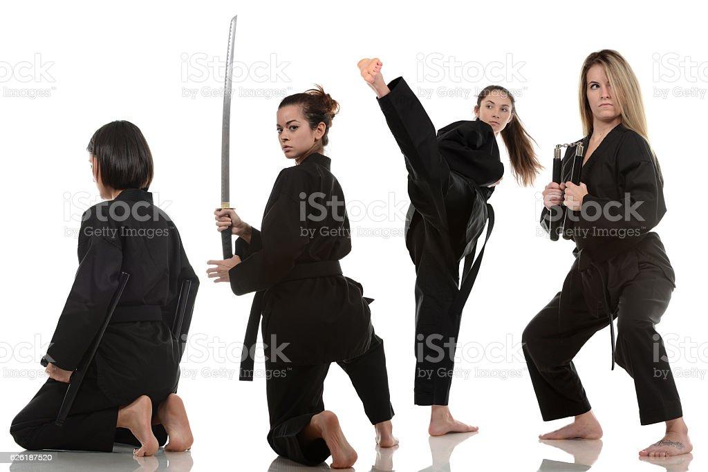 Black Team stock photo