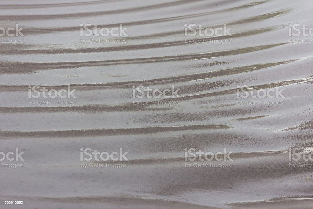 black towel fabric wet texture stock photo