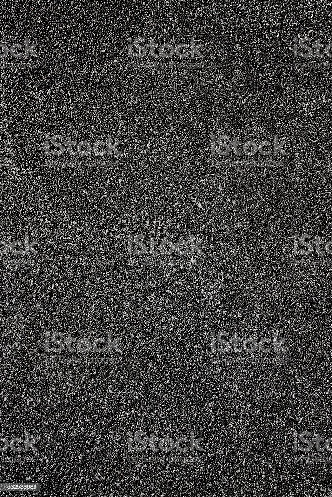 Black Track Turf Texture Background stock photo