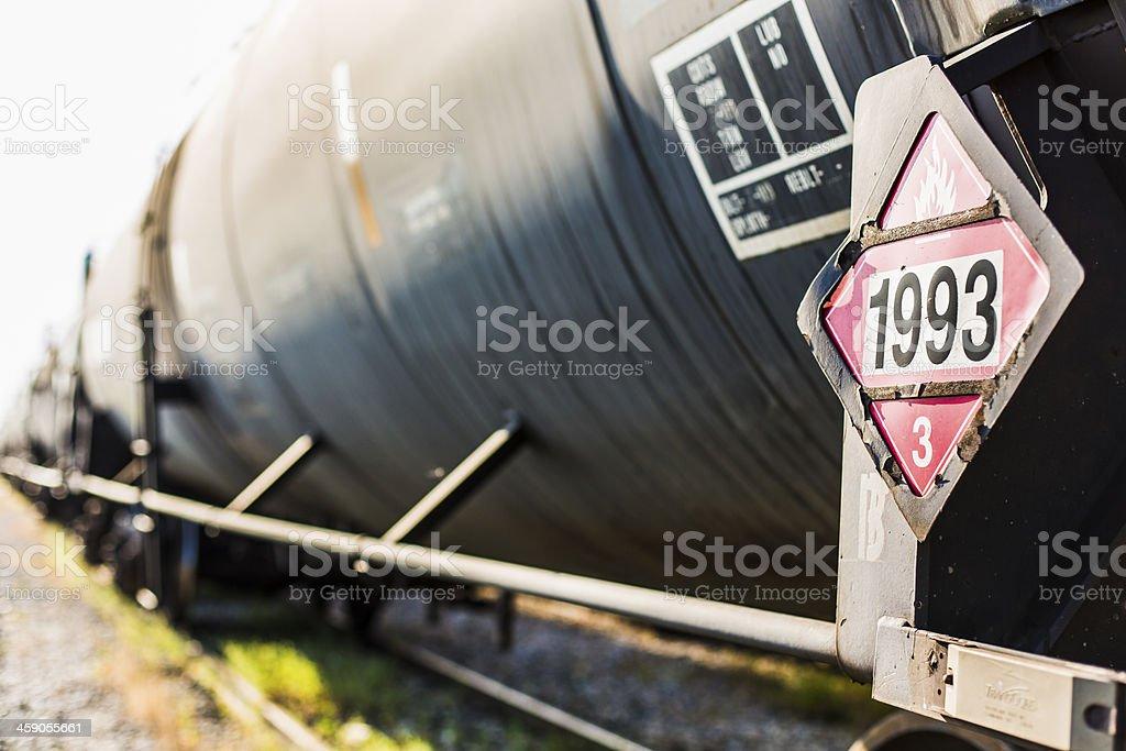 Black Train Car stock photo