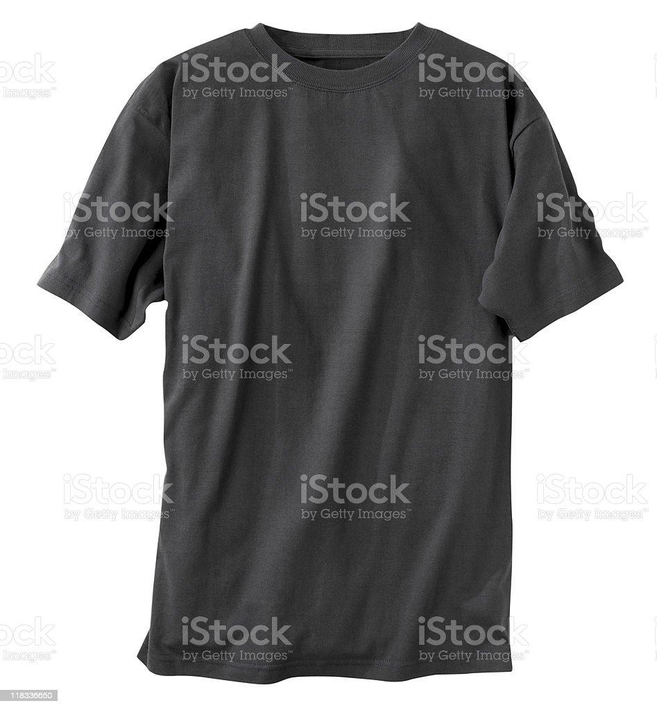 Black T-Shirt royalty-free stock photo