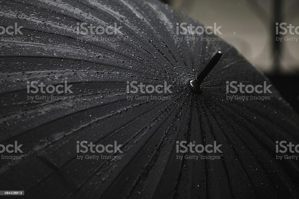Black Regenschirm Lizenzfreies stock-foto