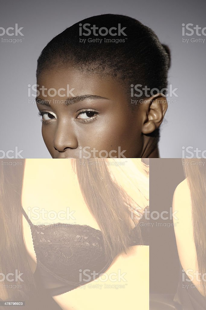 Black Underwear royalty-free stock photo