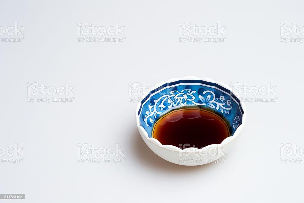 Black Vinegar Sauce stock photo