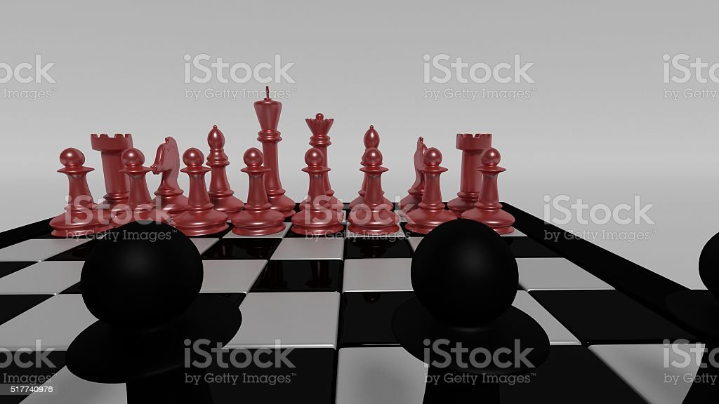 black vs red stock photo