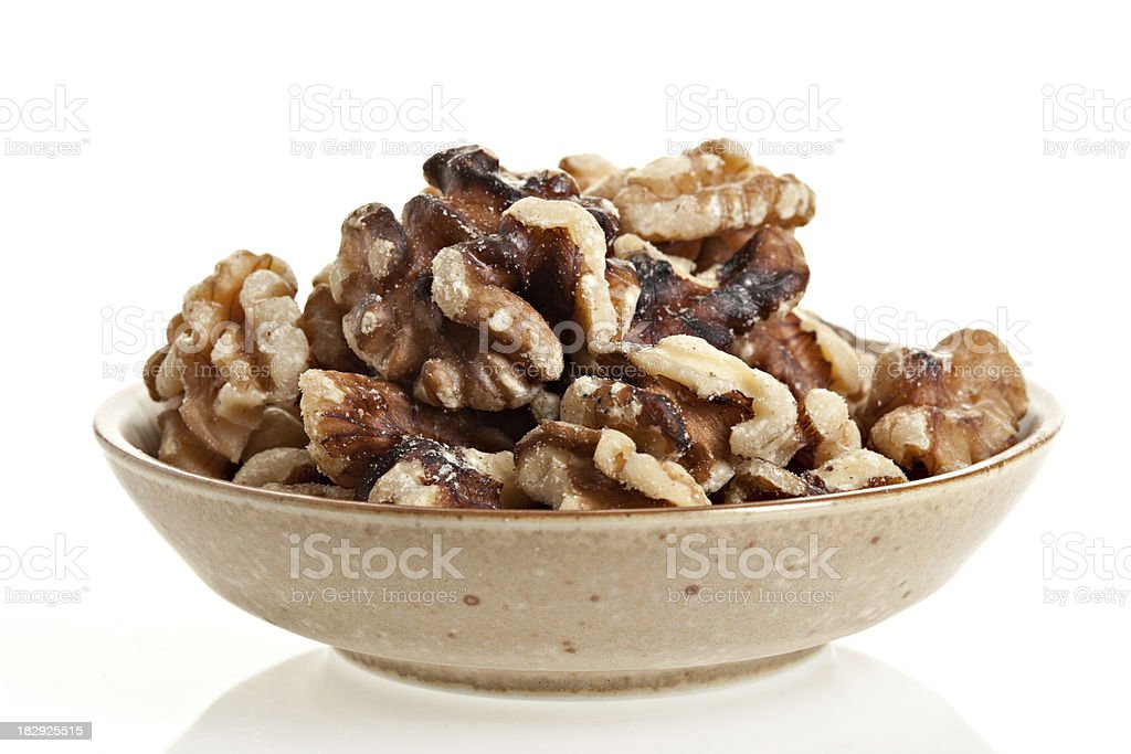 Black Walnut Pieces stock photo