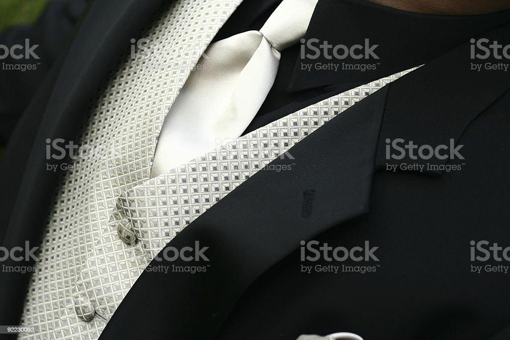 black wedding party tuxedo jacket royalty-free stock photo