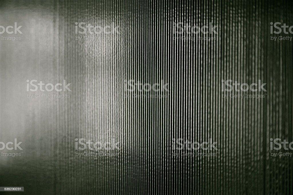 Black white stripes background nano lines glass plastic bluetooth signal stock photo