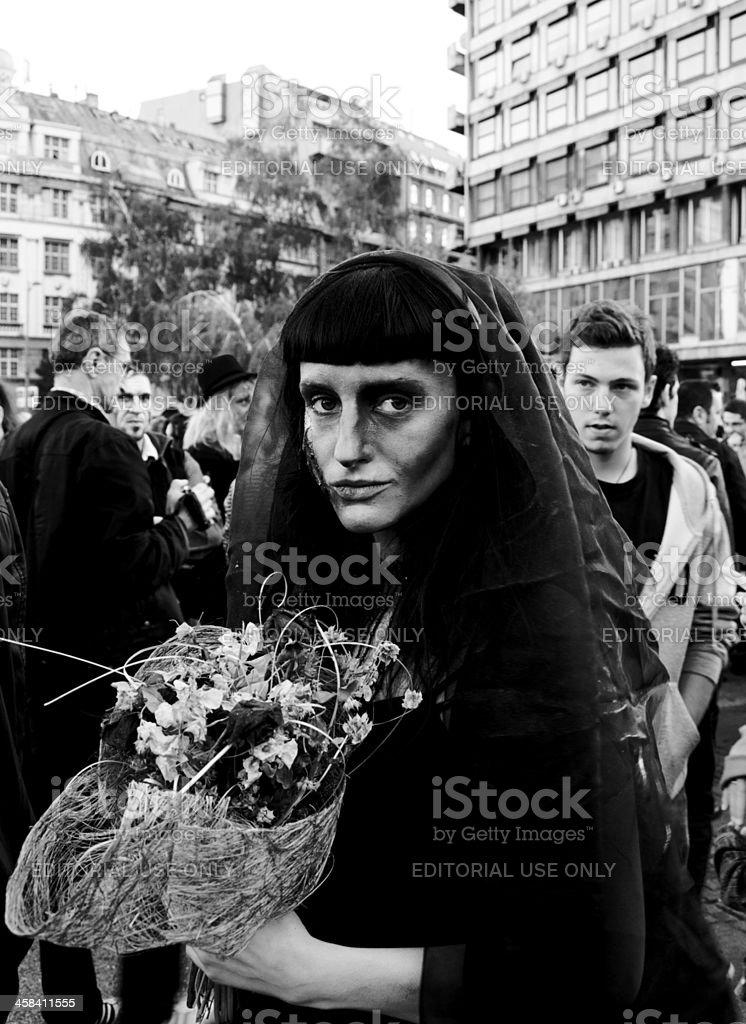 Black widow royalty-free stock photo