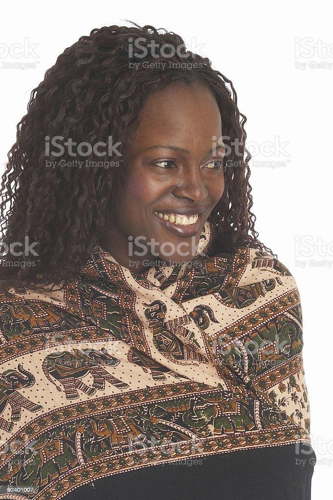 black woman royalty-free stock photo