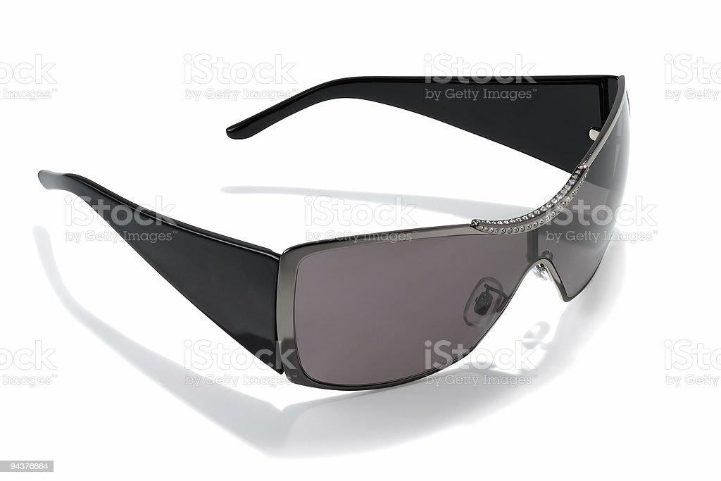 Black Women Sunglasses stock photo