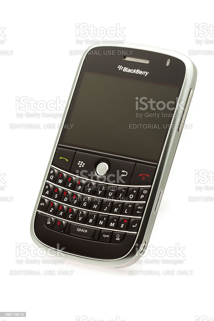 Blackberry Bold 9000 royalty-free stock photo