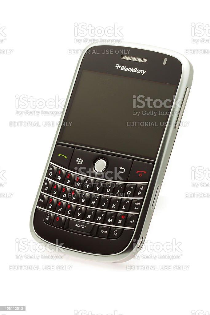 Blackberry Bold 9000 stock photo