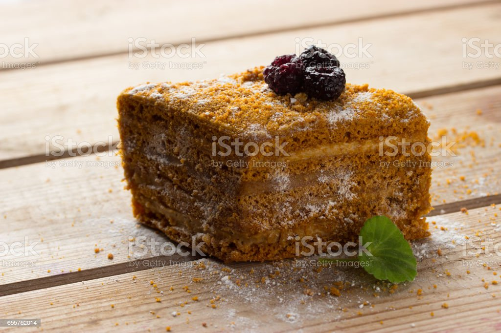 blackberry cookies on wooden table stock photo