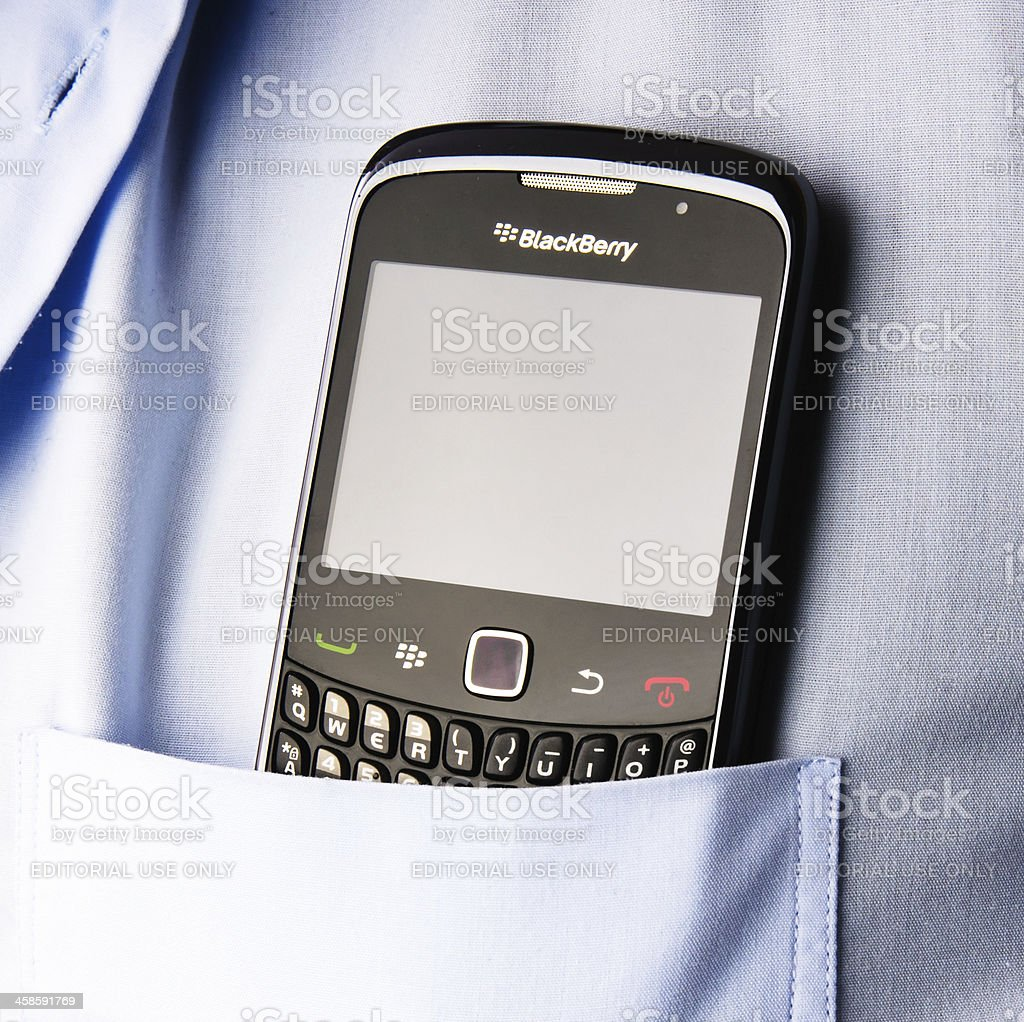 Blackberry ready for use royalty-free stock photo