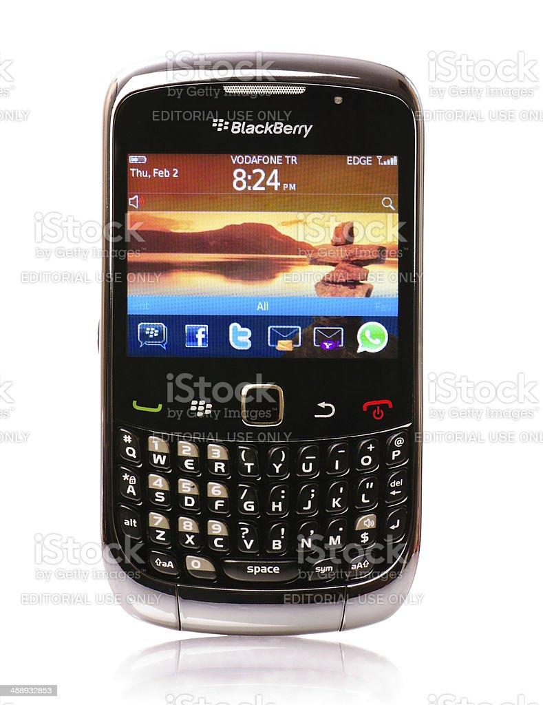Blackberry smartphone stock photo