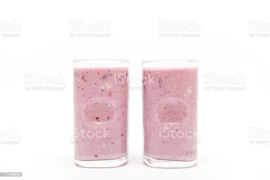 Blackberry Smoothie royalty-free stock photo