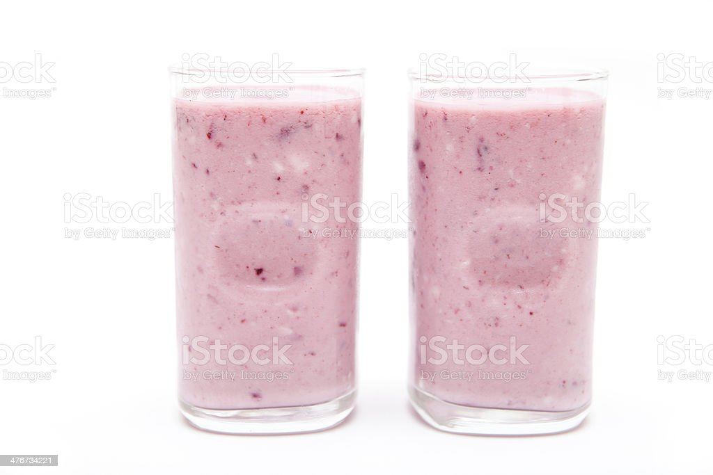 Blackberry Smoothie royalty-free stock photo