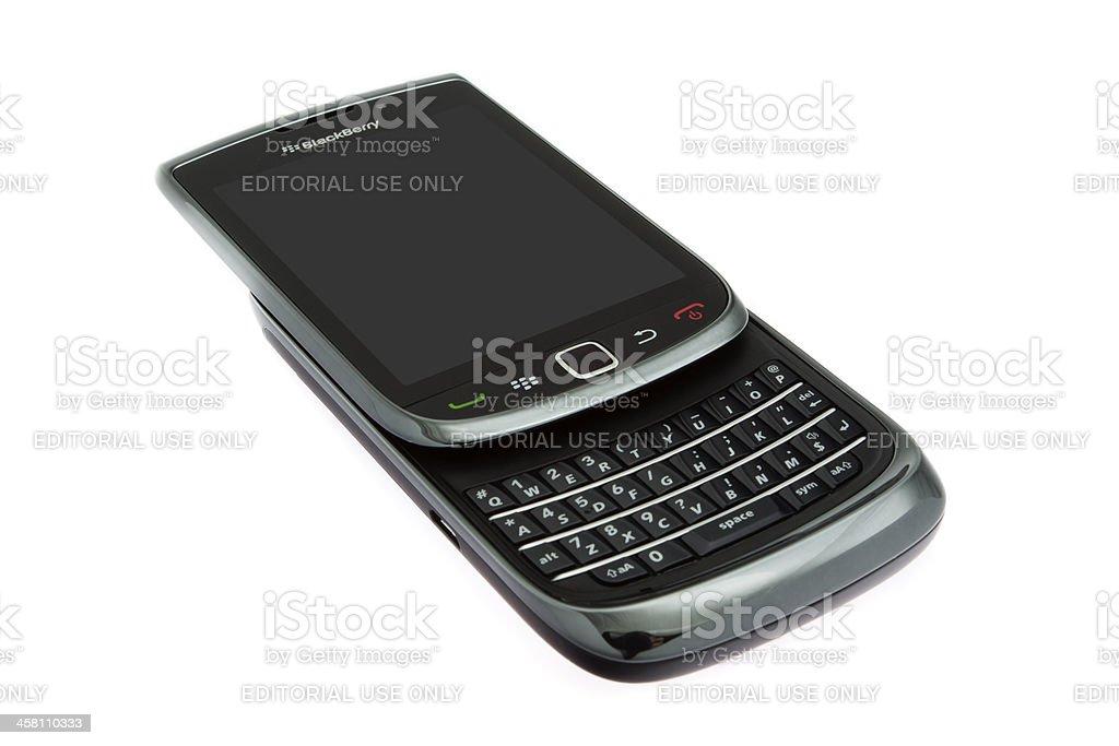 BlackBerry Torch 9800 royalty-free stock photo