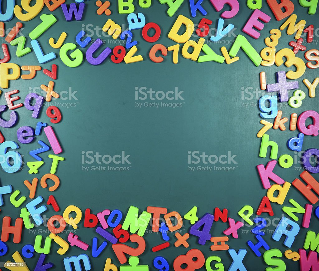 blackboard abstract background royalty-free stock photo
