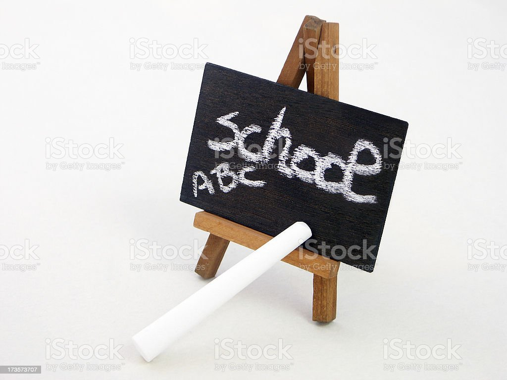 blackboard: back to school royalty-free stock photo