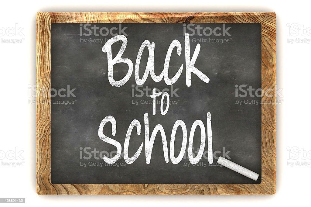 Blackboard Back to School stock photo