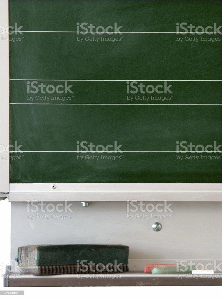 Blackboard Closeup royalty-free stock photo