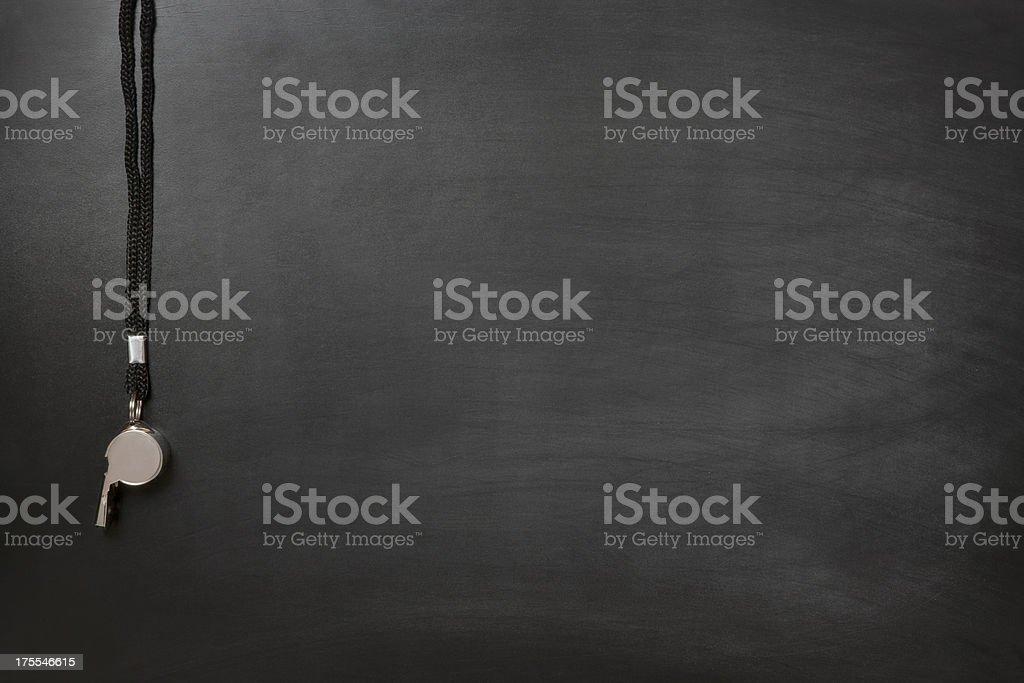 Blackboard Coach stock photo