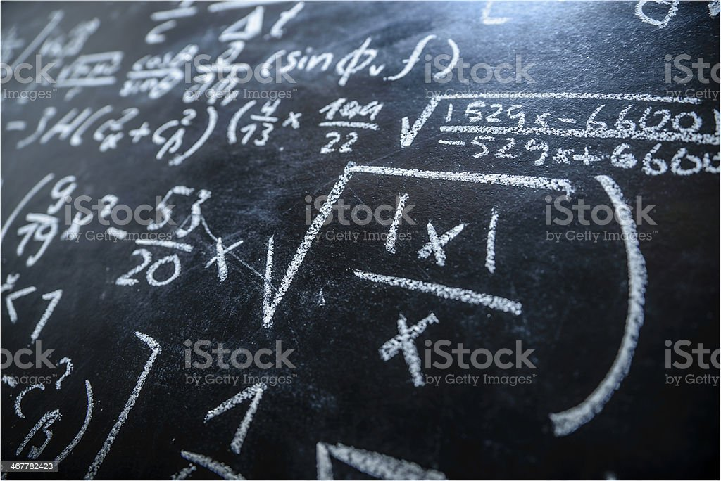 Blackboard stock photo