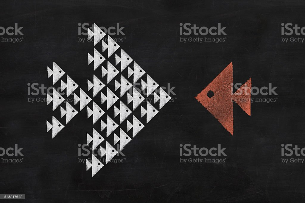 Blackboard Series stock photo