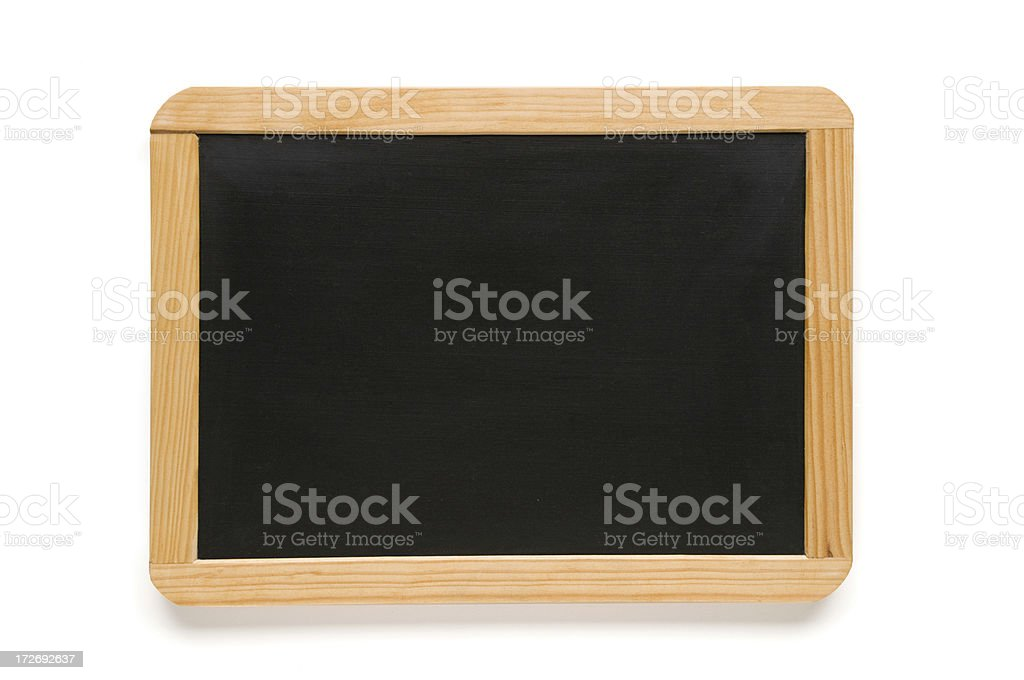 Blackboard slate royalty-free stock photo
