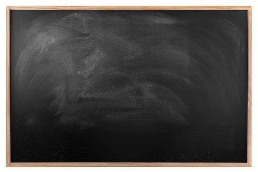 Old Fashioned Blackboard With Wooden Frame Model - Picture Frame ...