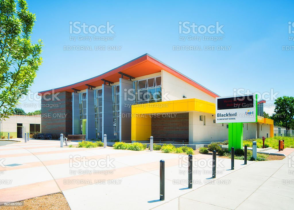 Blackford elementary school in Campbell Central California USA stock photo