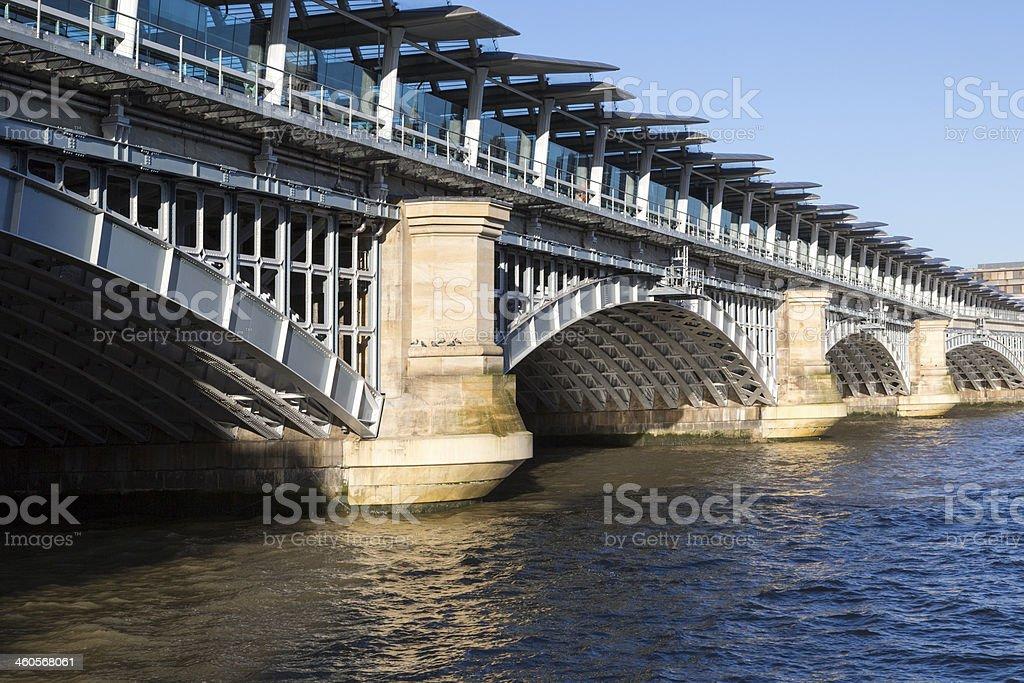 Blackfriars Bridge royalty-free stock photo