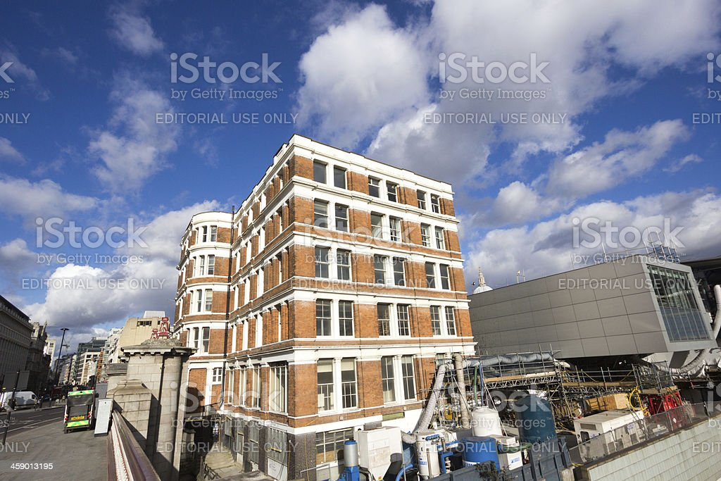 Blackfriars in London, England royalty-free stock photo
