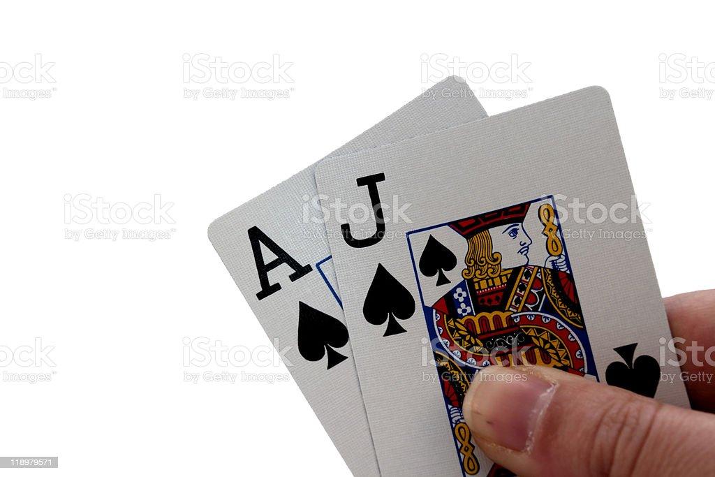 Blackjack XL stock photo