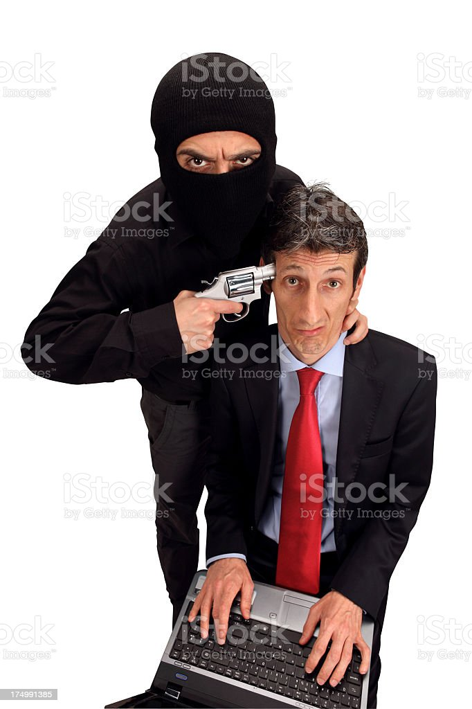 Blackmail royalty-free stock photo