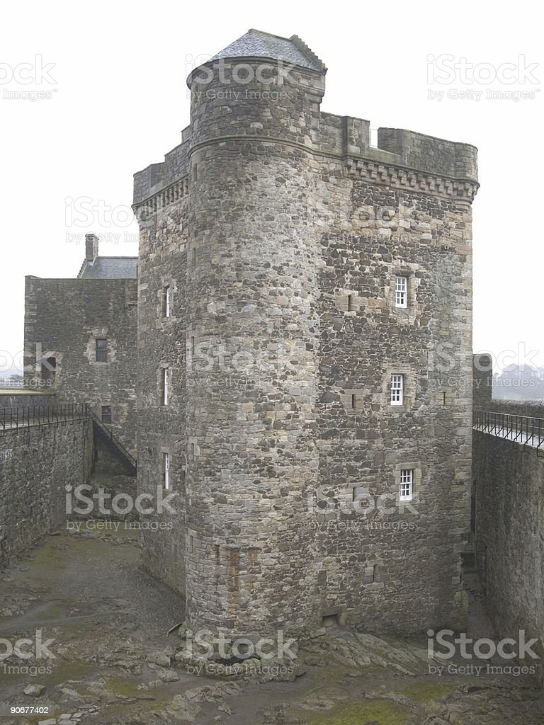 Noirceur Château photo libre de droits