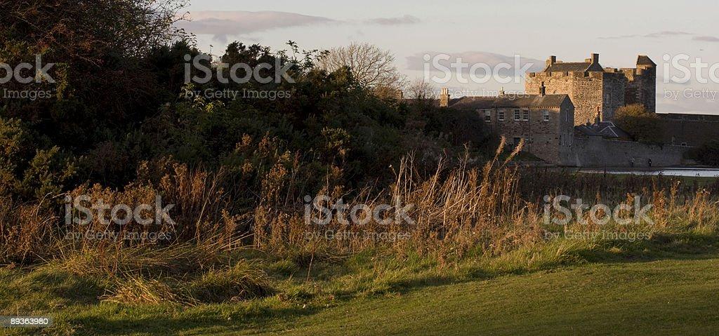 Blackness Castle, Scotland royalty-free stock photo