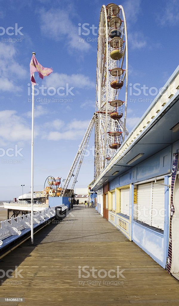 Blackpool Central Pier stock photo