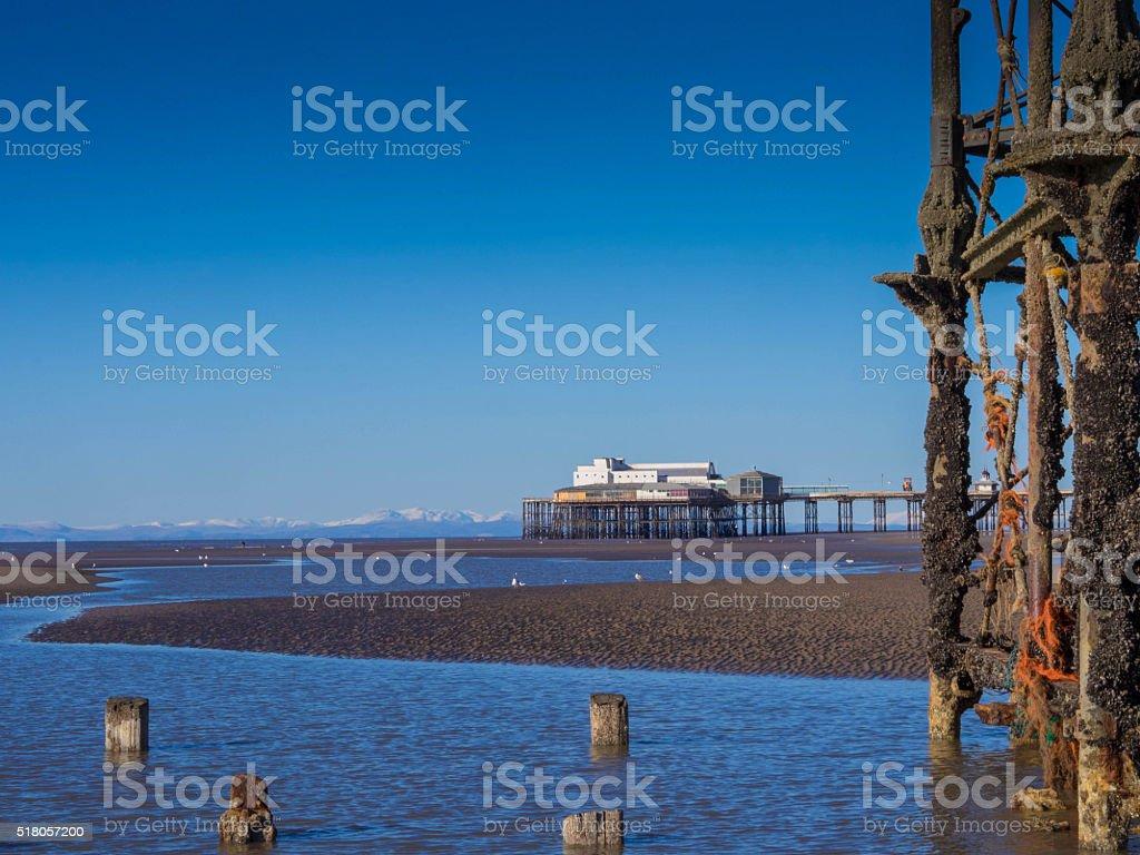 Blackpool stock photo