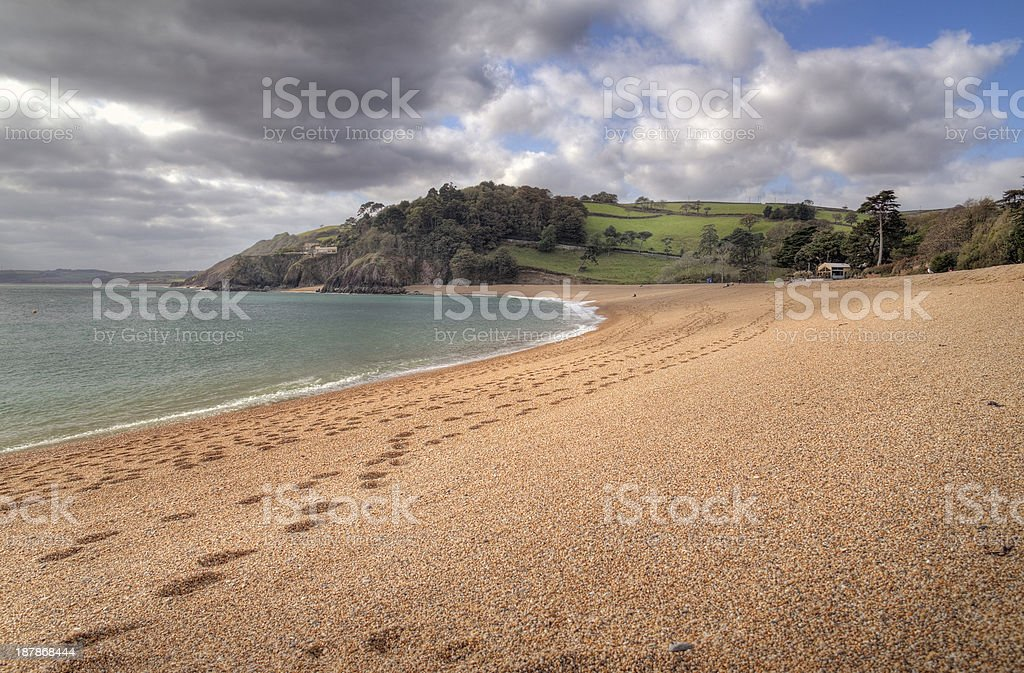Blackpool Sands, Devon stock photo
