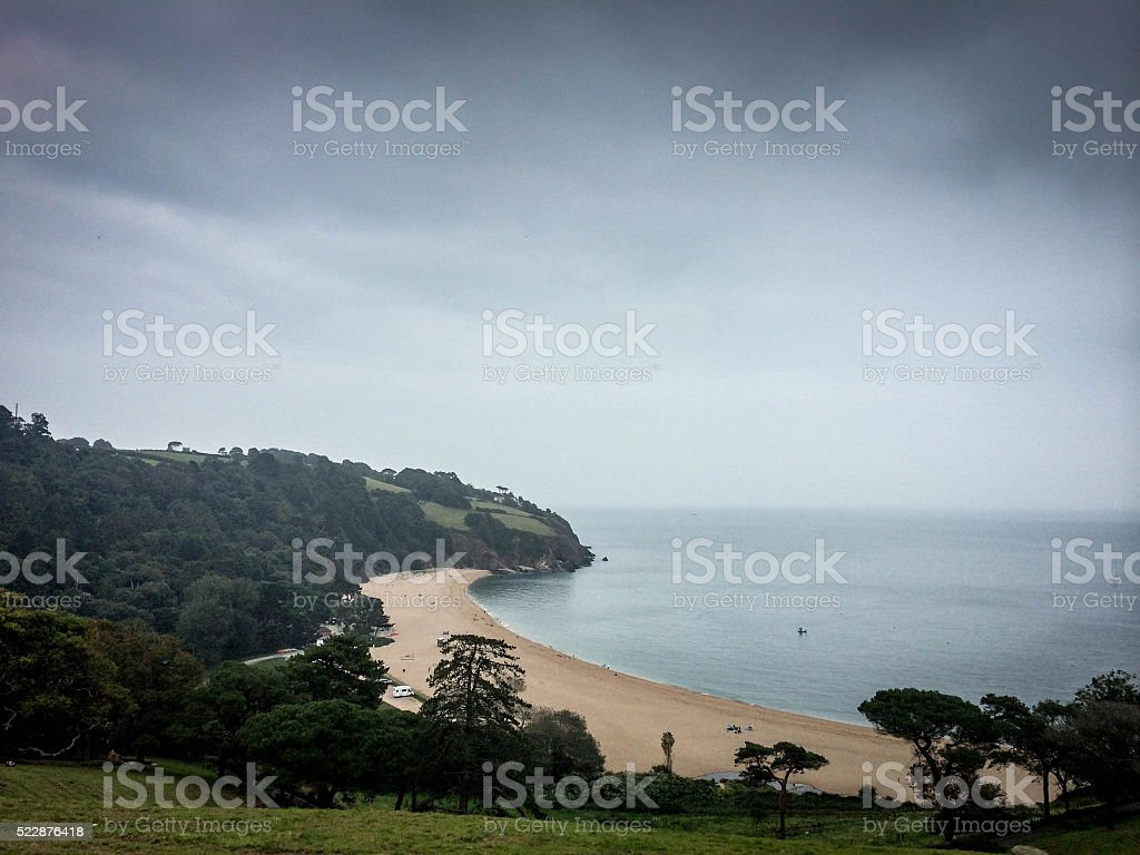 Blackpool Sands stock photo