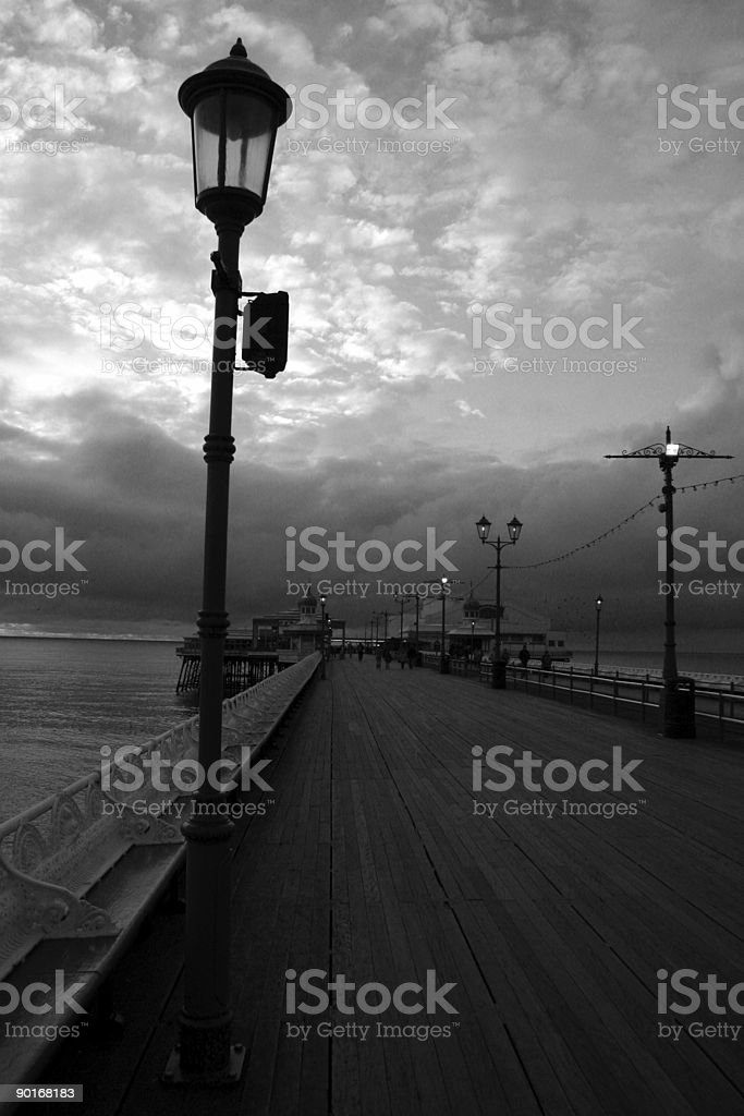 Blackpool Seaside Town royalty-free stock photo